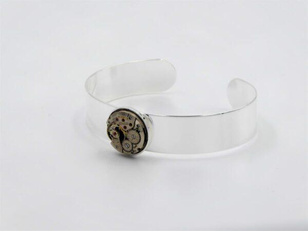 Bracelet jonc argent 2