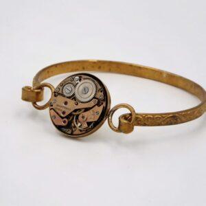 Bracelet bronze montre