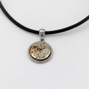 Collier cuir homme