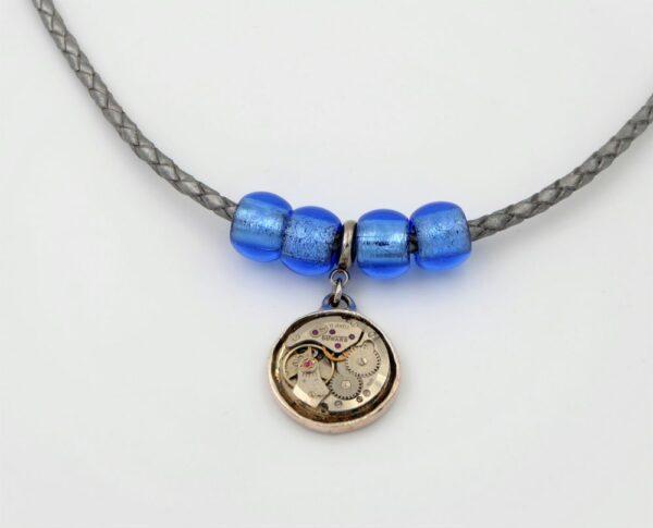 Collier femme perles Murano