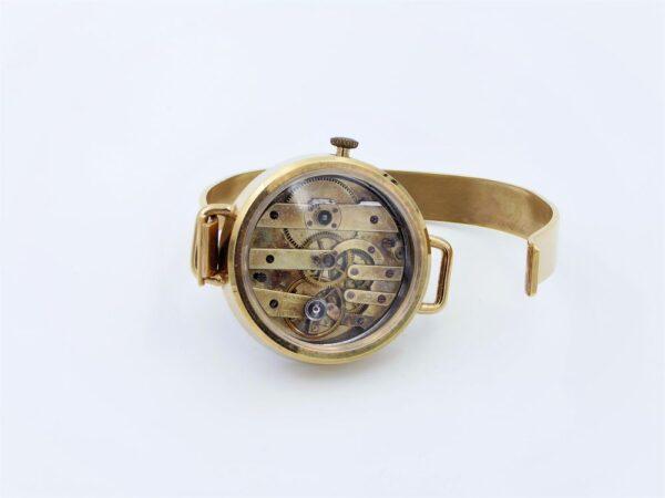 Bracelet acier inoxydable doré 2
