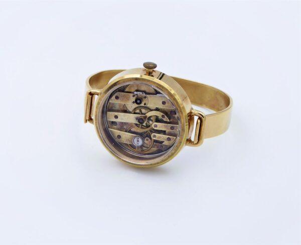 Bracelet acier inoxydable doré 3