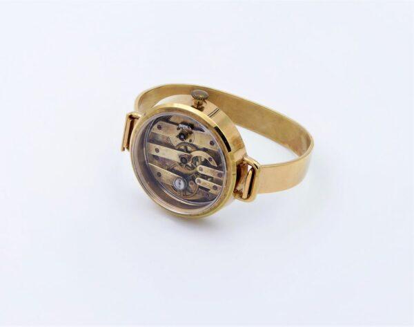 Bracelet acier inoxydable doré