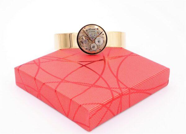 Bracelet manchette femme or 2